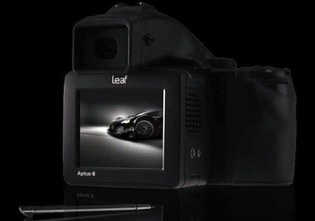 If 18 or 20-megapixel DSLRs aren't enough for you, Leaf has just launched their new Aptus-II 12 with 80-megapixel extra large sensor.